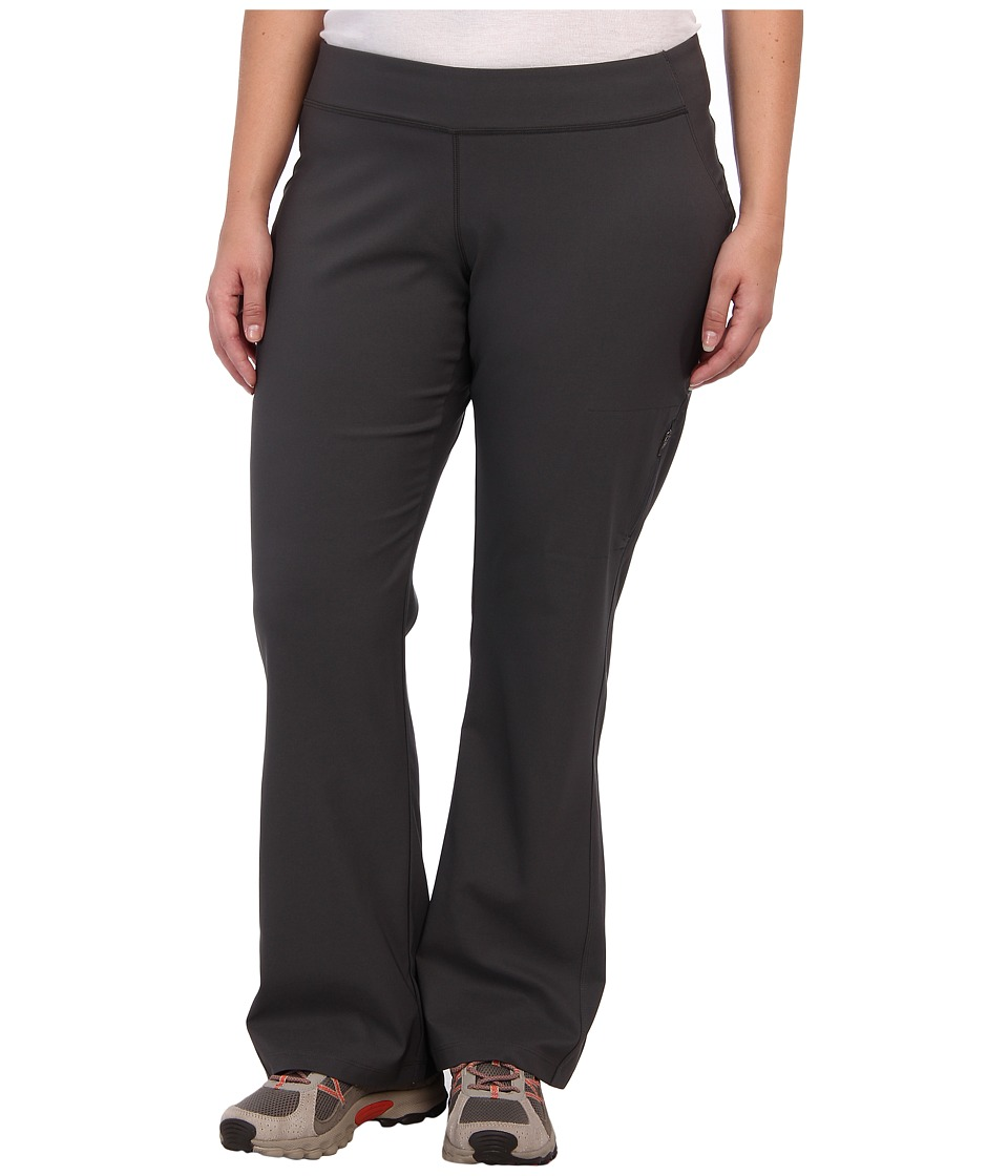 Columbia - Plus Size Back Beautytm Boot Cut Pant (Grill) Womens Clothing