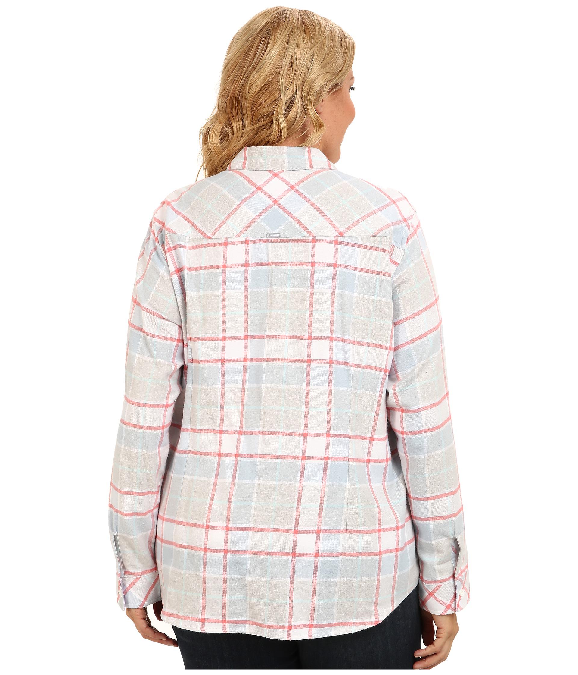 Columbia Plus Size Simply Put Ii Flannel Shirt Mirage Big