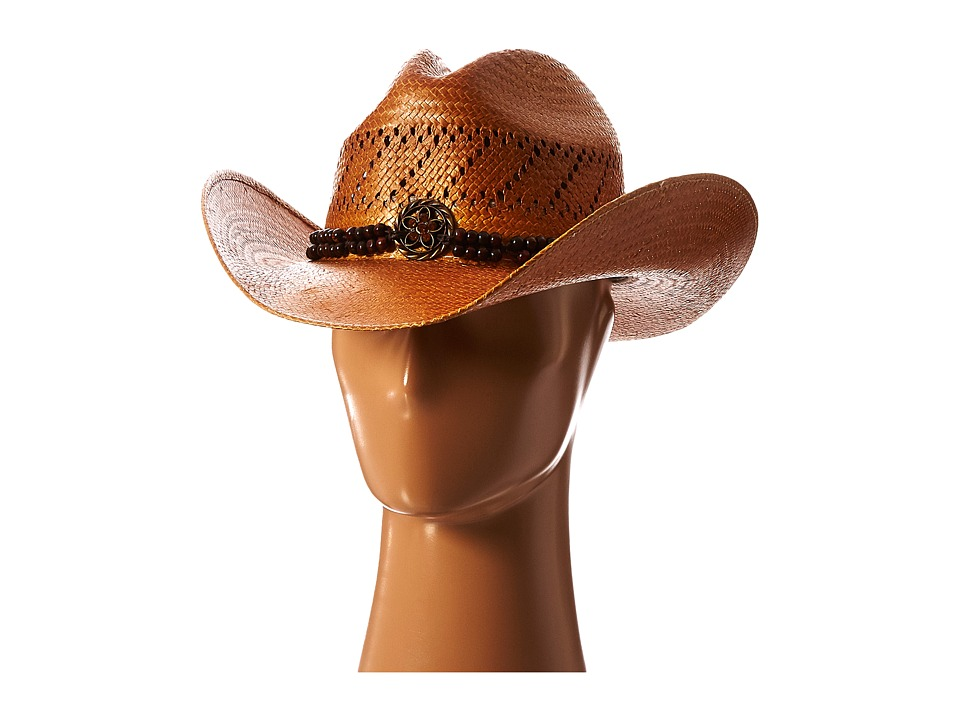 MampF Western 71085 Light Brown Fashion Cowboy Hats
