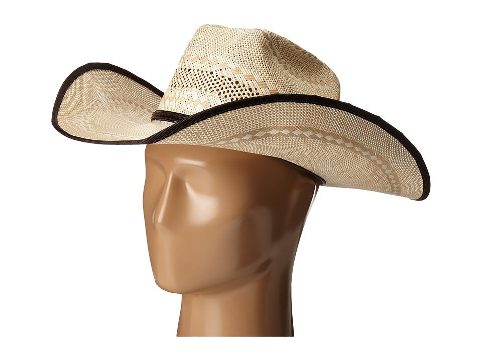 M&F Western - T73668 (20X Shantung Tan/Ivory) Cowboy Hats