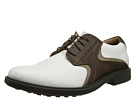 Dockers - Formby (White/Brown Saddle)