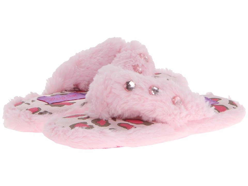 Blazin Roxx Furry Flip Flop Slippers (Toddler/Little Kid/Big Kid) (Pink) Girls Shoes