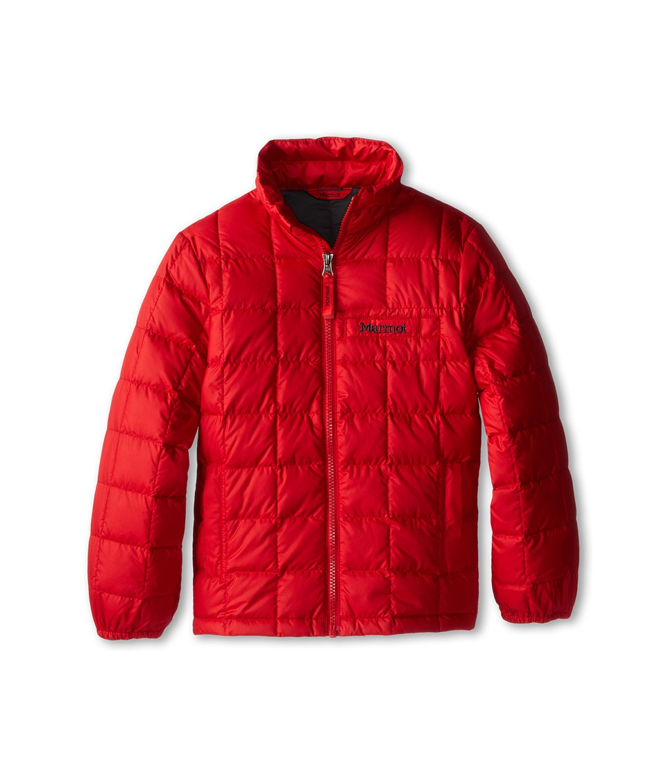 Marmot Kids Boys Ajax Jacket Little Kids/Big Kids Team Red Boys Jacket