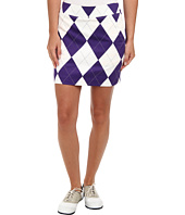 Loudmouth Golf - Purple and White Skort