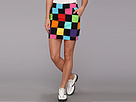 Loudmouth Golf Hollywood Squares Black Skort
