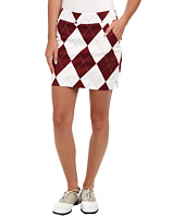 Loudmouth Golf - Maroon and White Skort
