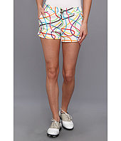 Loudmouth Golf - Scribblz White Mini Short