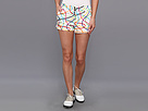 Loudmouth Golf Scribblz White Mini Short