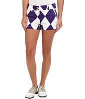 Loudmouth Golf - Purple and White Mini Short