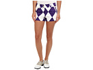 Loudmouth Golf Purple and White Mini Short