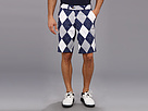 Loudmouth Golf Navy Gray Short