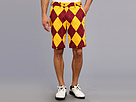 Loudmouth Golf Burgundy Maize Short