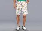 Loudmouth Golf Scribblz White Short