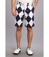 Loudmouth Golf - Navy and White Short