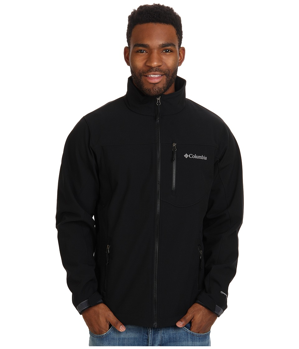Columbia Prime Peak Softshell Jacket (Black) Men
