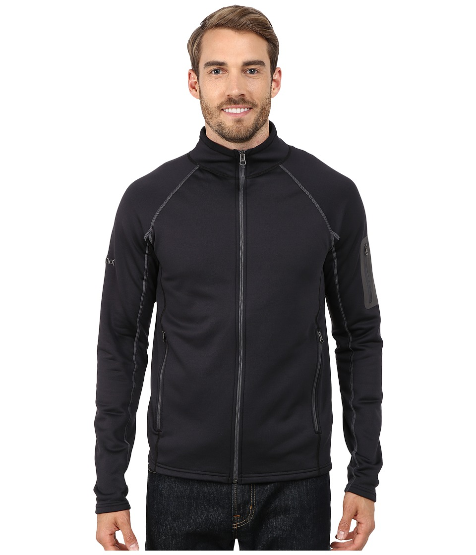 Marmot Stretch Fleece Jacket (Black) Men