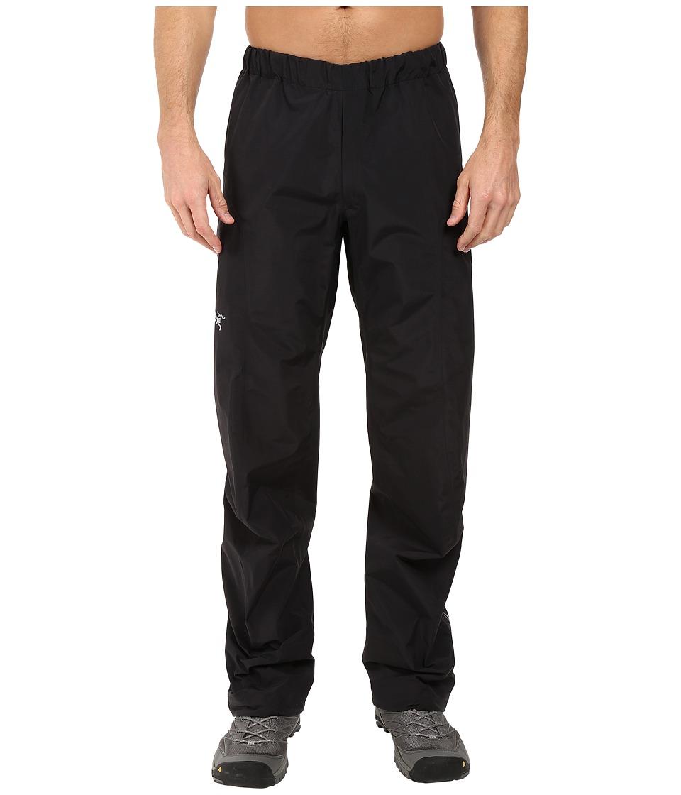 Arc'Teryx Beta SL Pant (Black) Men's Casual Pants