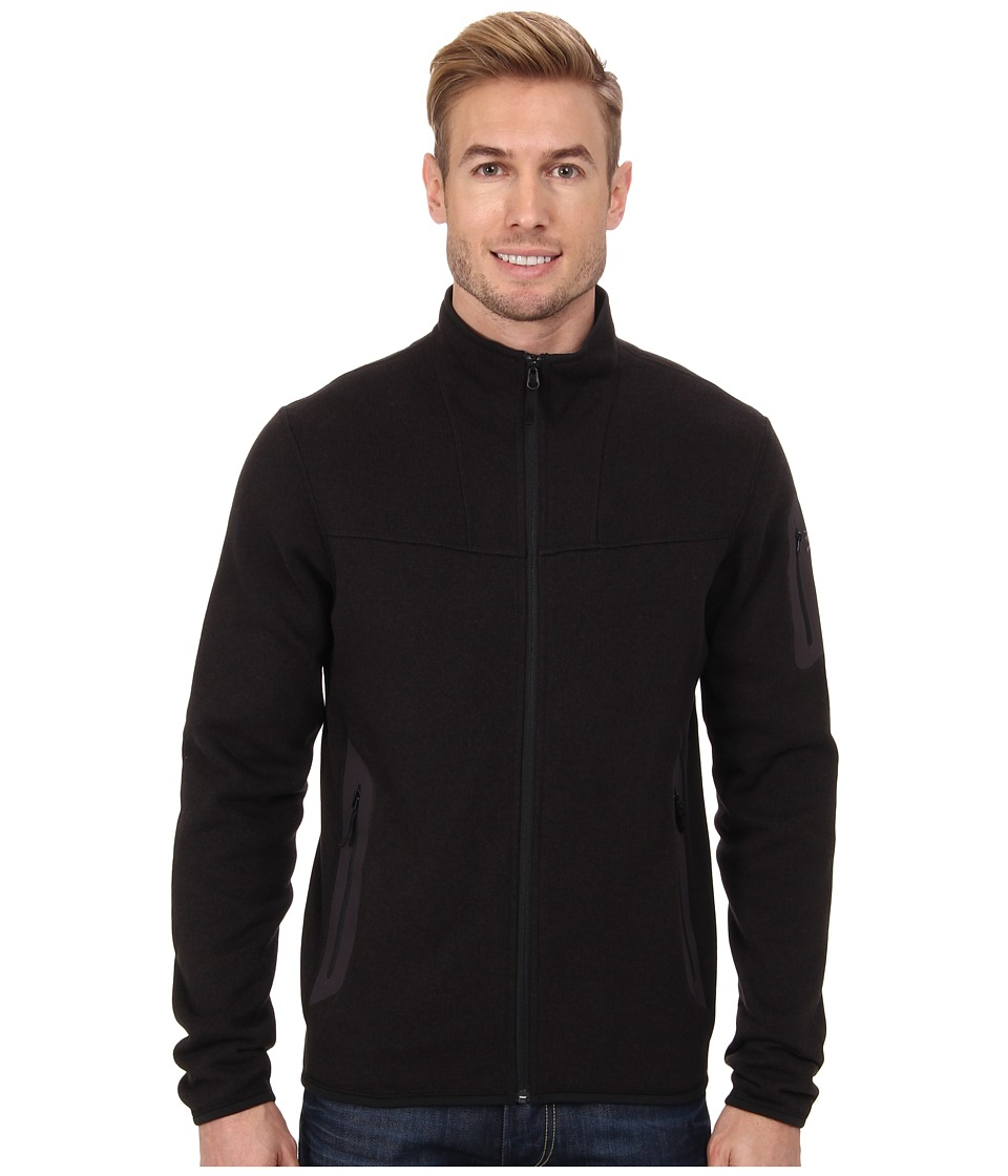 Arc'Teryx Covert Cardigan (Black) Men's Coat