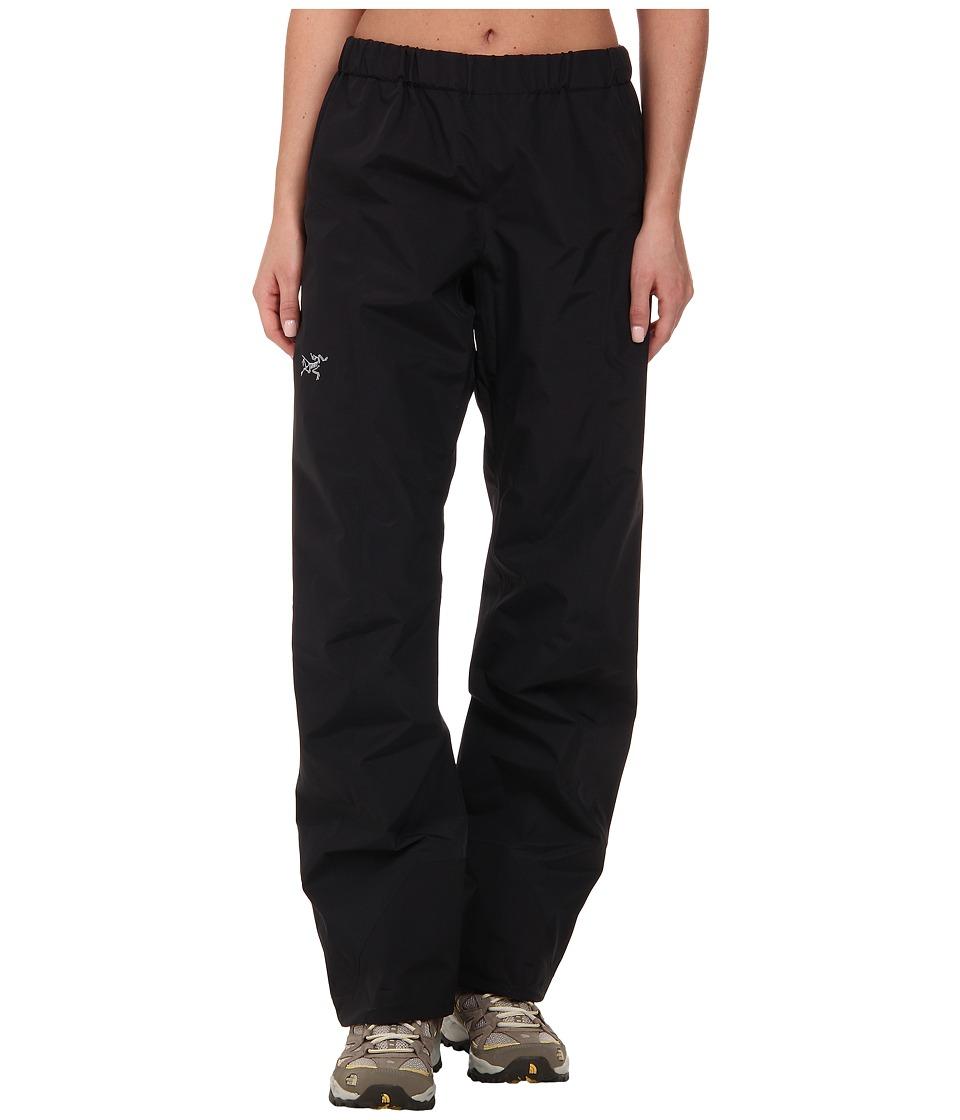 Arc'Teryx Beta SL Pant (Black) Women's Casual Pants
