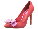 Isaac Mizrahi New York - Lillie (Red/Pink Suede) - Footwear