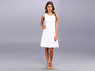 Donna Morgan - Sleeveless Fit Flare With Back Outfit (White)