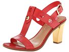 Isaac Mizrahi New York - Sasha (Red Leather) - Footwear
