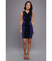 BCBGMAXAZRIA - Racha Sleeveless Peplum Dress