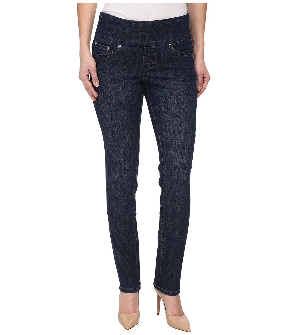 Jag Jeans Petite Petite Malia Pull On Slim in Blue Shadow Blue Shadow Womens Jeans