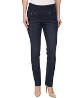Jag Jeans Petite - Petite Malia Pull-On Slim in Blue Shadow
