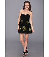 BCBGMAXAZRIA - Petite Tia Embroidered Peplum Dress