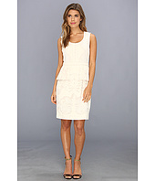 BCBGMAXAZRIA - Etna Lace Peplum Sheath Dress