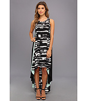 BCBGMAXAZRIA - Malisa Sleeveless Color Blocked Dress