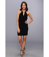 BCBGMAXAZRIA - Kiley Tuxedo Stripe Halter Dress