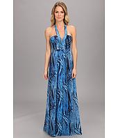 BCBGMAXAZRIA - Starr Printed Gown