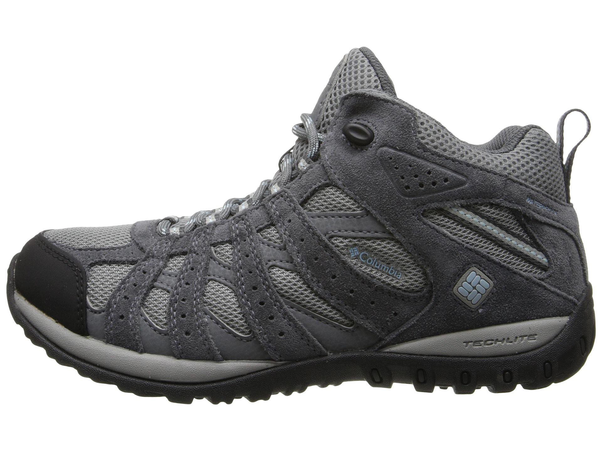 Columbia Women S Redmond Waterproof Trail Shoe Sky Blue
