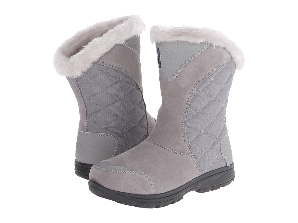 Columbia - Ice Maidentm II Slip (Light Grey/Siberia) Womens Cold Weather Boots
