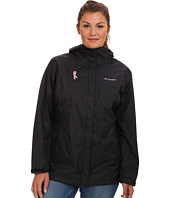 Columbia - Plus Size Tested Tough in Pink™ Rain Jacket II