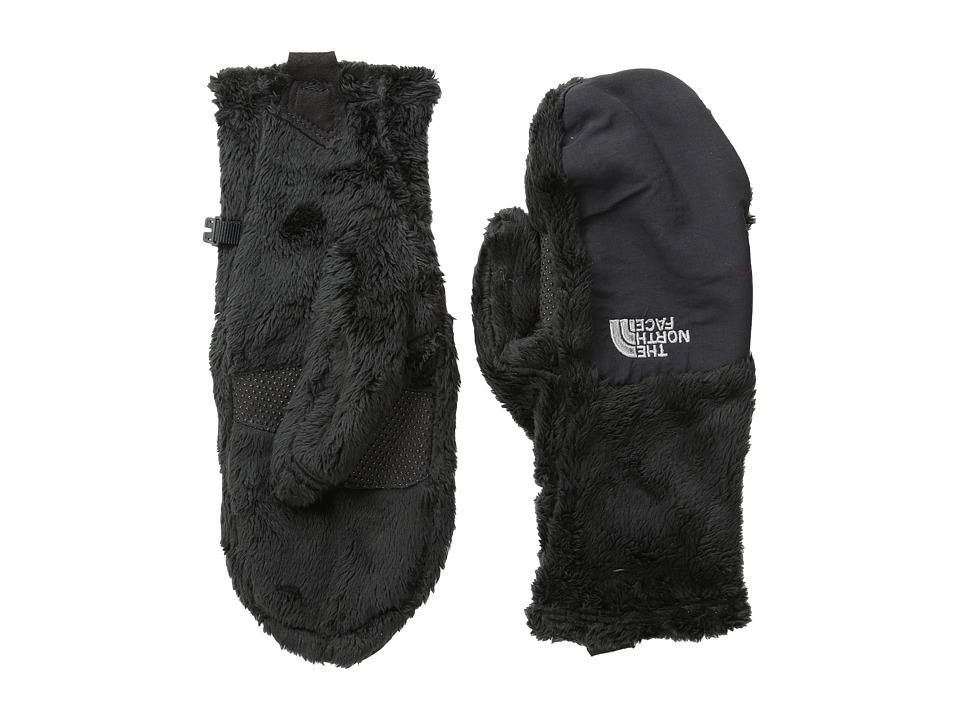 The North Face - Womens Denali Thermal Mitt (Black TNF) Extreme Cold Weather Gloves
