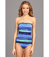 Tommy Bahama - Water Wave Bandeau One-Piece
