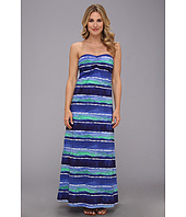 Tommy Bahama - Water Waves Long Bandeau Dress Cover-Up