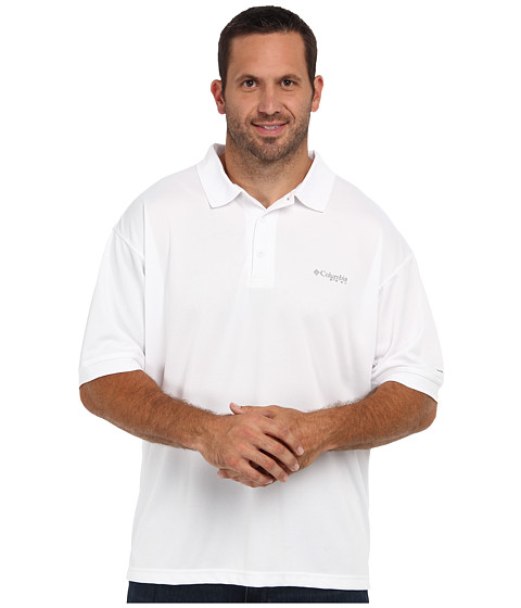 Columbia Perfect Cast™ Polo - Extended - White