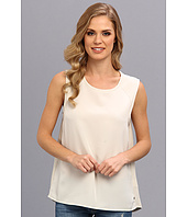 Calvin Klein Jeans - Woven Front Terry Tank