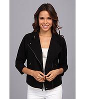Calvin Klein Jeans - Textured Crop Moto Jacket