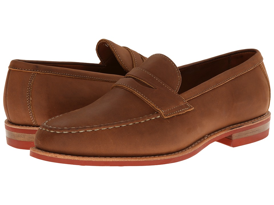 Allen Edmonds Addison Tan Leather Mens Shoes