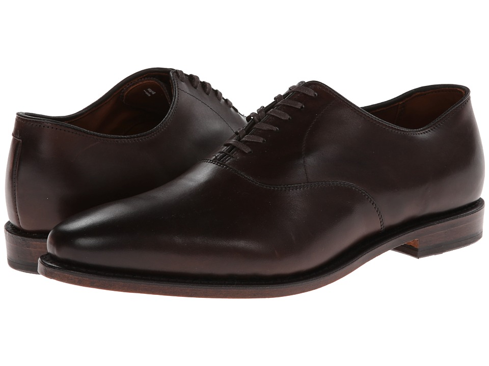 Allen Edmonds Carlyle Brown Burnished Calf Mens Shoes