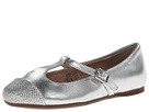 Venettini Kids - 55-Annie (Little Kid/Big Kid) (Silver/Glitter Leather) - Footwear