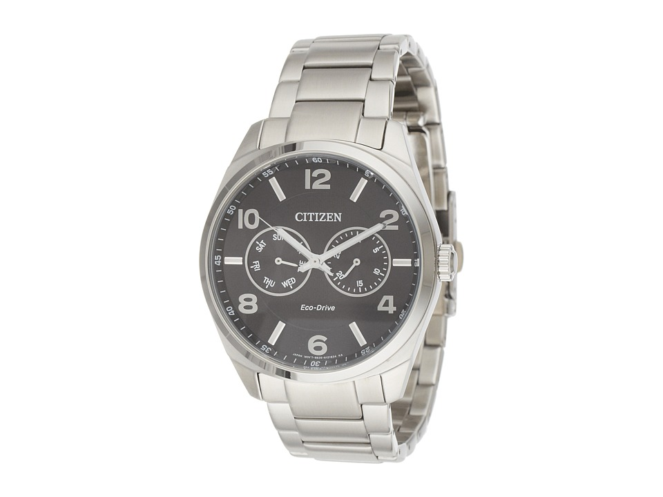 Citizen Watches AO9020 84E Mens Dress Silver Tone Stainless Steel Watches