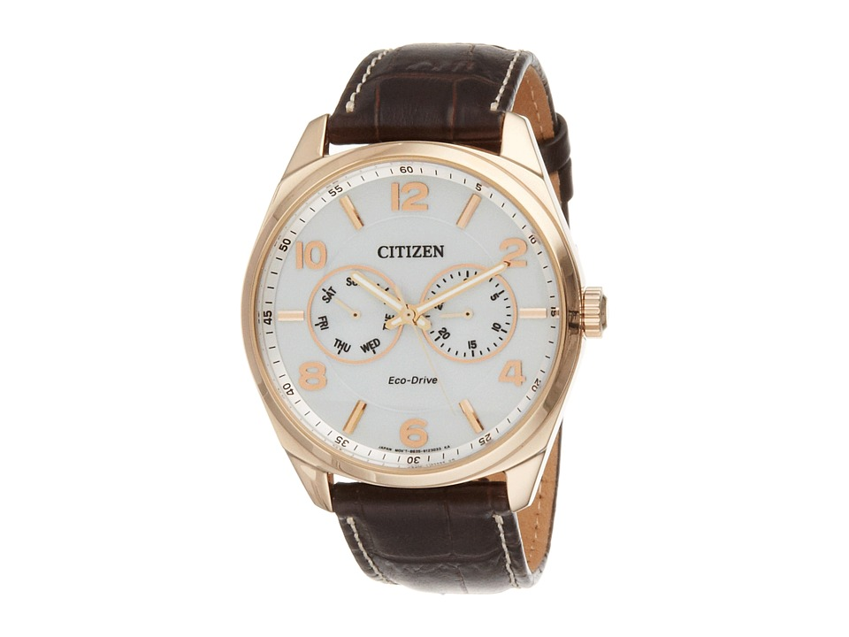 Citizen Watches AO9023 01A Mens Dress Gold Tone Stainless Steel Analog Watches