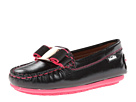 Venettini Kids - 55-Debra (Toddler/Little Kid) (Black Pearlized Leather) - Footwear