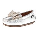 Venettini Kids - 55-Denise (Toddler/Little Kid) (Silver Embossed Leather) - Footwear